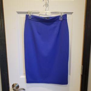 Mossimo Purple Pencil Skirt